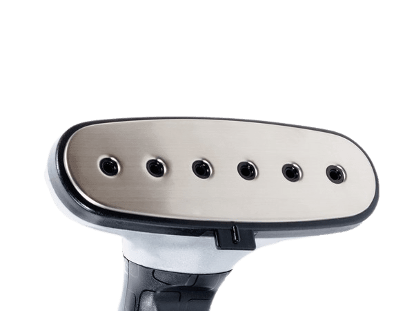 Suela de aluminium inoxidable plancha vertical gecko-steamer lm44