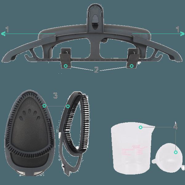 accessoires défroisseur haute pression Gecko-Steamer