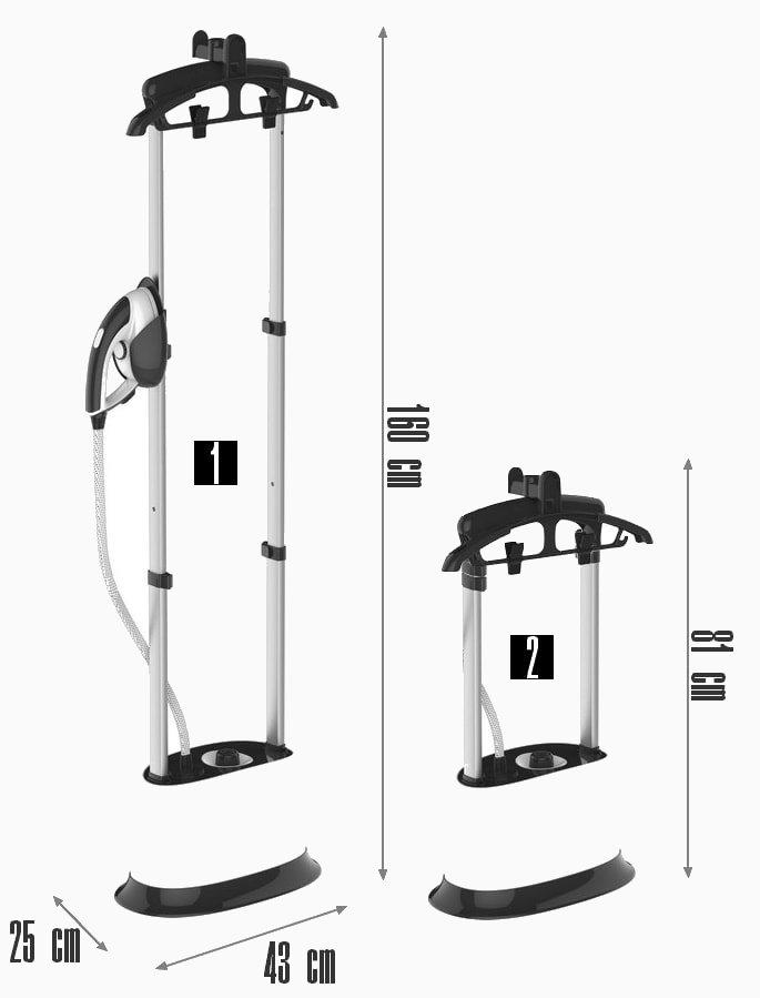 dimensions défroisseur vapeur G400
